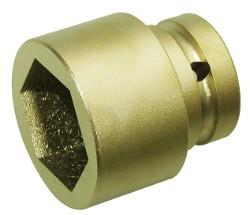 0351015S ATEX-Stecknuss 6-kant 30 mm funkenfrei